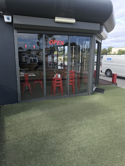Immaculate Industrial Cafe - 5 Days - Sales over $16,000 per week.