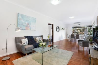 Wonderfully spacious apartment in prized location