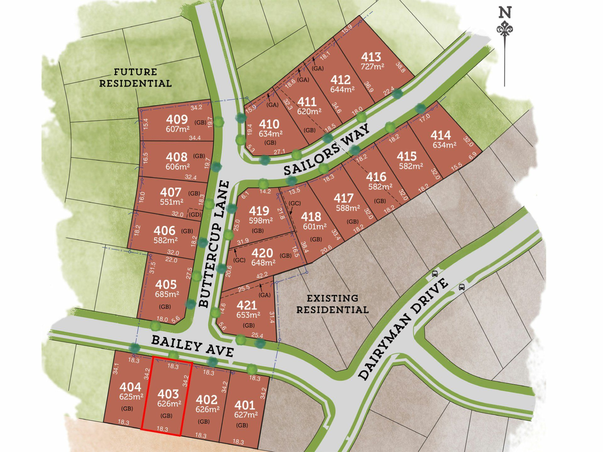 Lot 403 Bailey Avenue RAYMOND TERRACE 2324