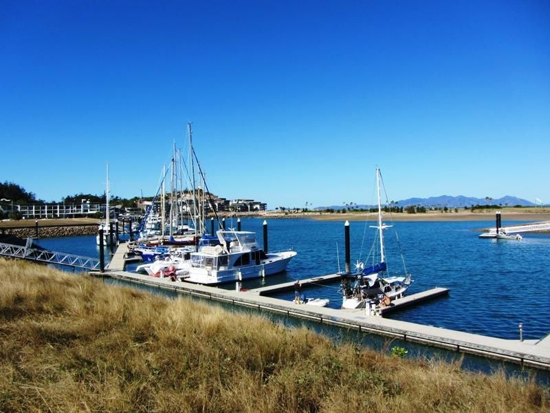 Waterfront site at Nelly Bay marina