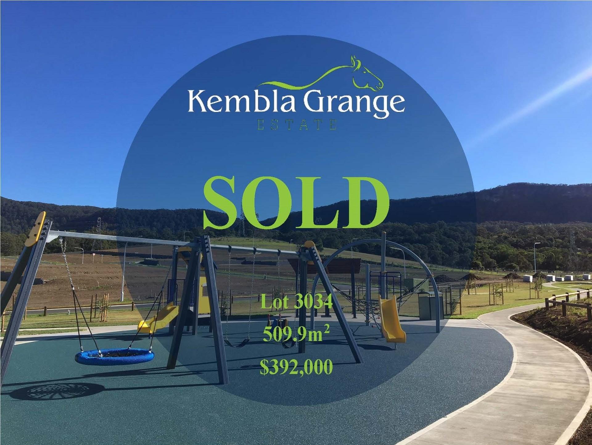 Kembla Grange Lot 3034 Kembla Grange Estate