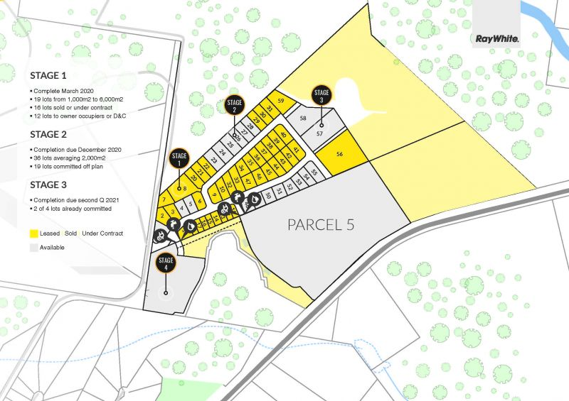 15.4ha* Level and Serviced General Industry Parcel