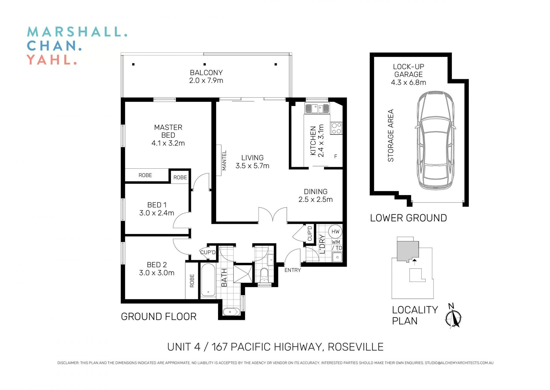 4/167 Pacific Highway Roseville 2069
