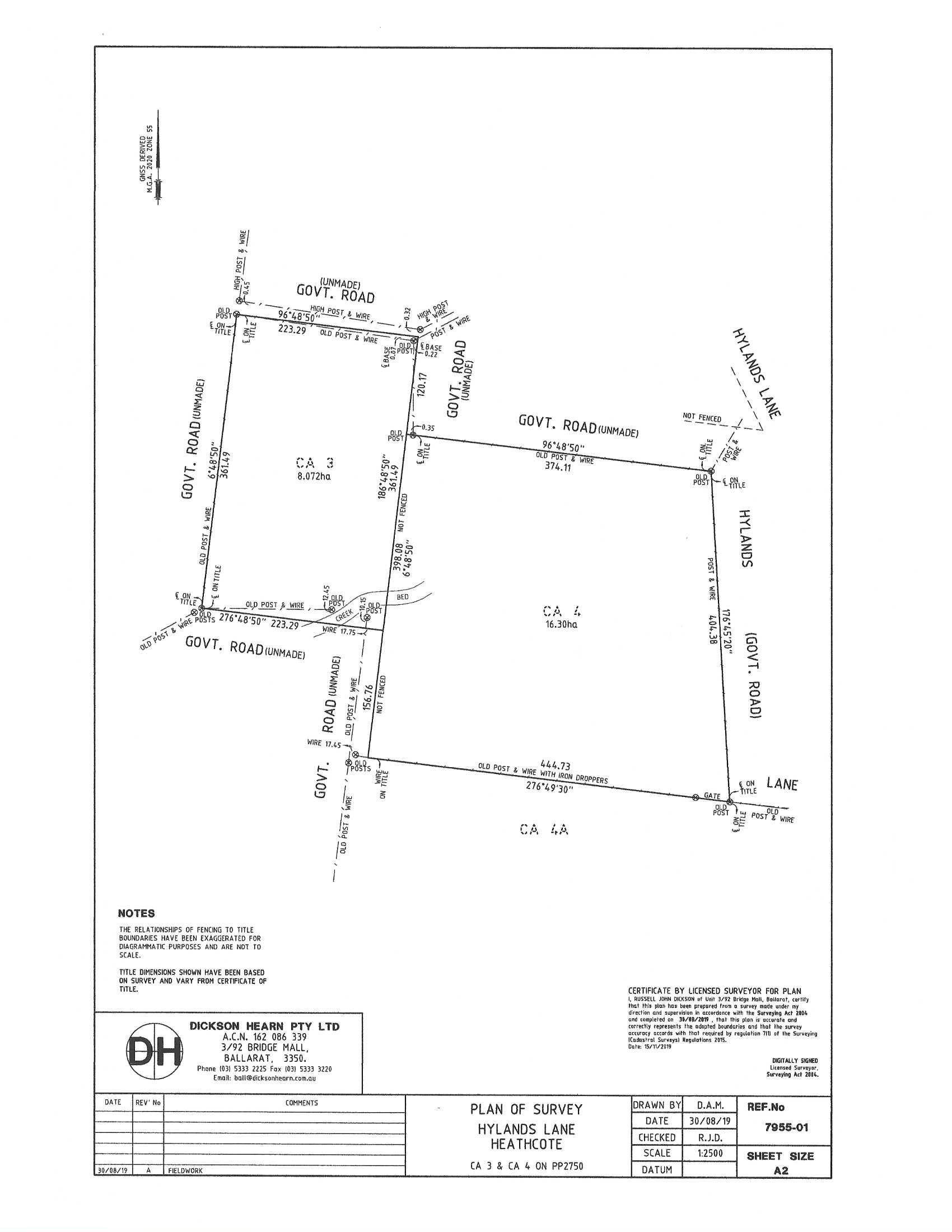 C/A 3/ Hylands Lane, Heathcote VIC 3523