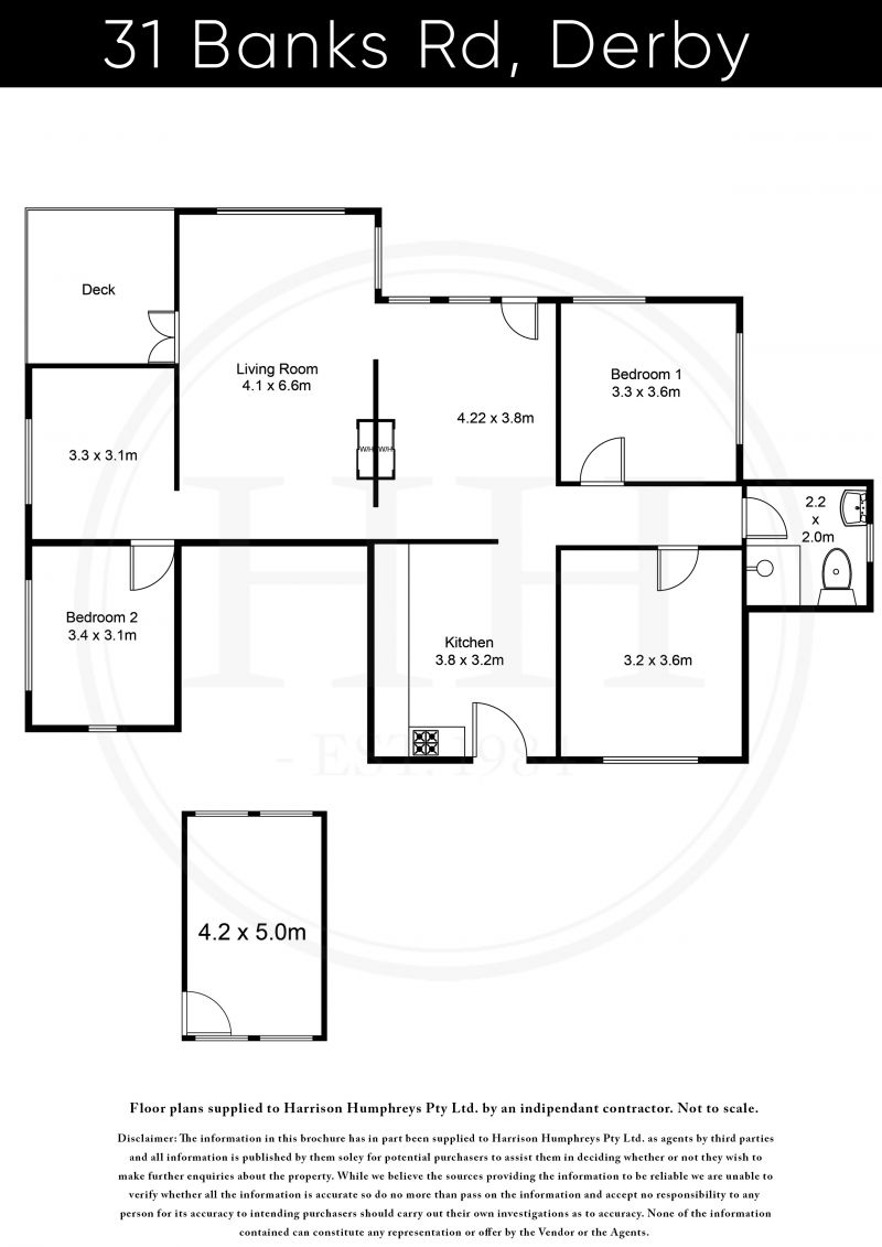31 Banks Road Floorplan