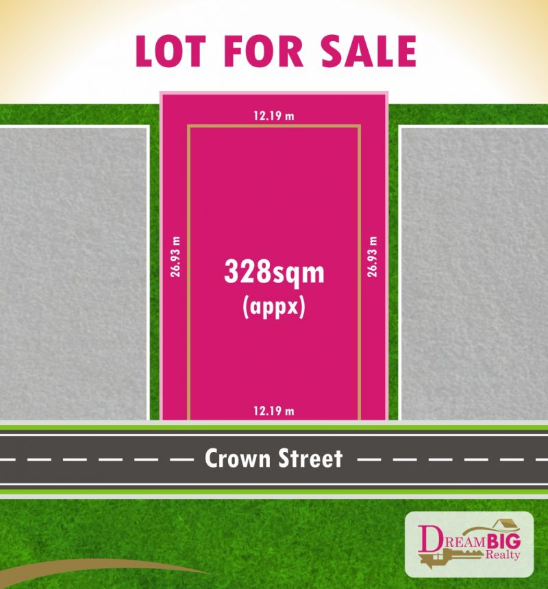 Rectangular Land With 12.2M Front !!