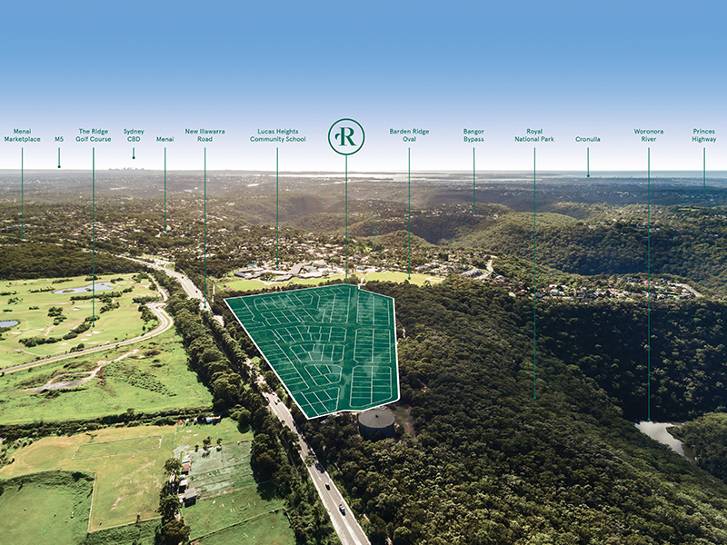 New Boutique Estate | Land from 550m2 in Sutherland Shire