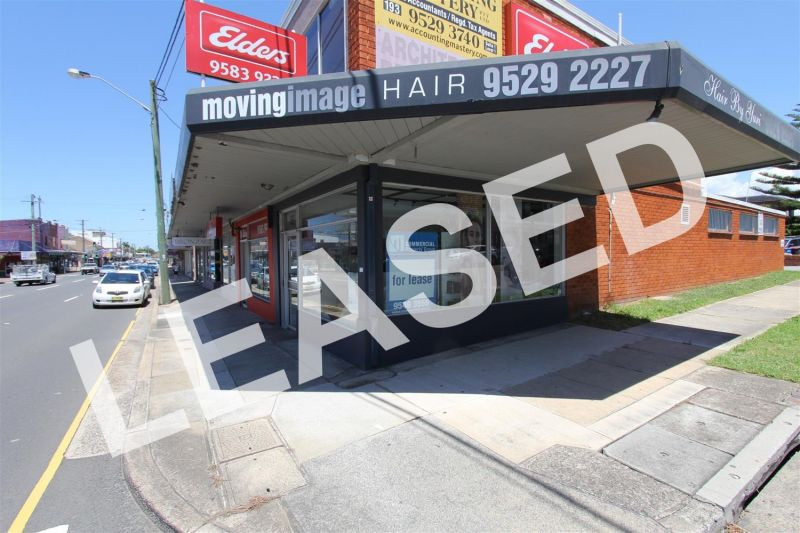 LEASED BY RYAN MCMAHON - PRIME CORNER POSITION RETAIL