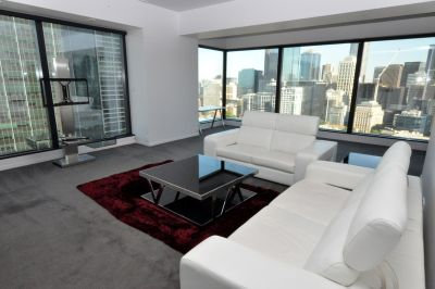 Eureka Tower - Furnished 3 Bedroom Apartment With The Best View In Town!
