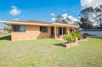 SOLID BRICK HOME WITH HUGE SHED SPACE IN TOP SPOT!