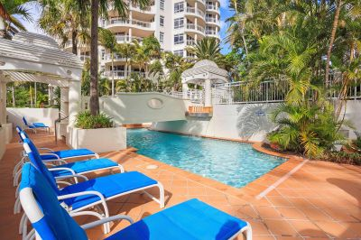 Beach Front Apartment in Sought After Burleigh Heads!