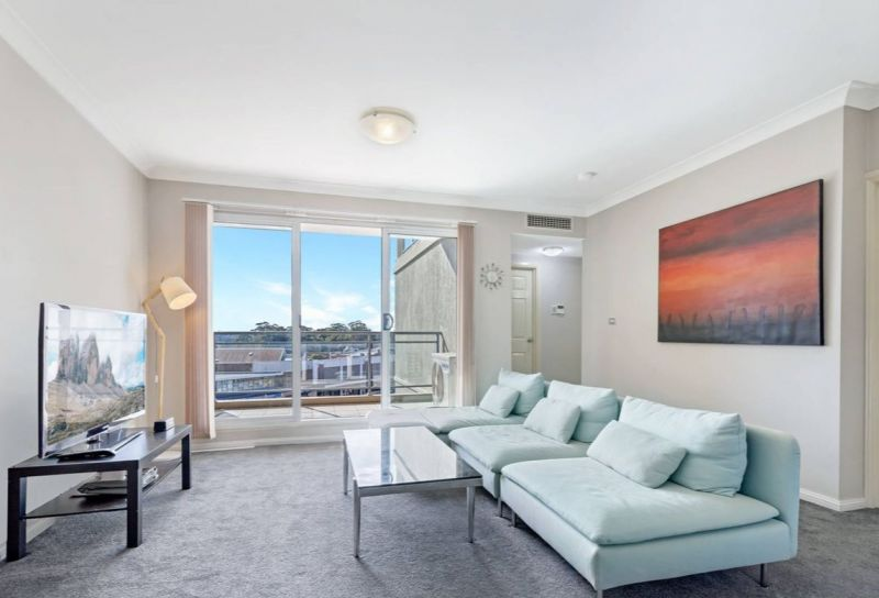 Freshly painted two bedroom apartment in ideal position