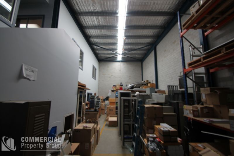 HIGH CLEARANCE WAREHOUSE & SUBSTANTIAL OFFICE
