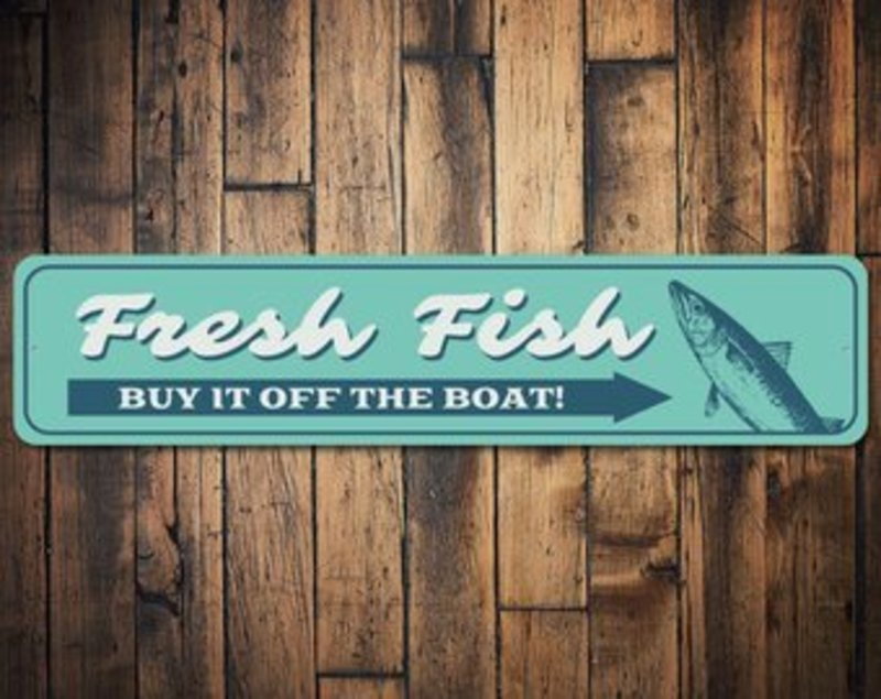 Fishing Boat and Fresh Fish Sales