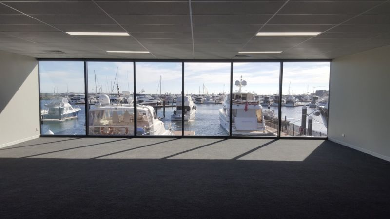 Harbour Views from this Premium Office