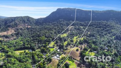 Rare 70 acres, on Two Titles backing onto Mt Tallebudgera