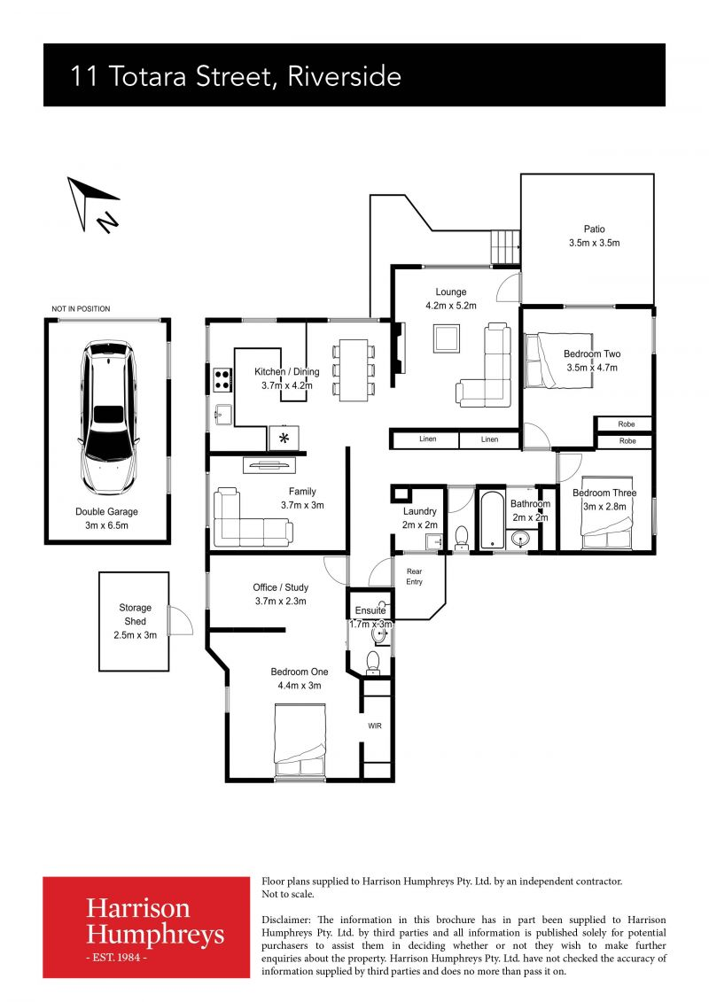 11 Totara Street Floorplan