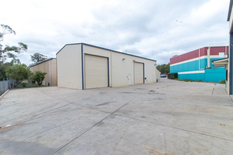 Dual Warehouse Facility and Yard