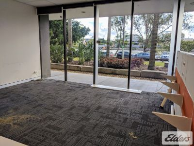 GROUND FLOOR OFFICE OPENING UP TO THE BRISBANE RIVER!