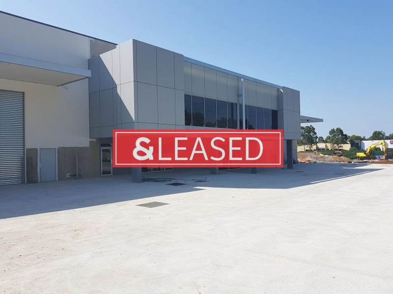 TWO UNITS ~ Brand New High Clearance Industrial Units offering Excellent Exposure
