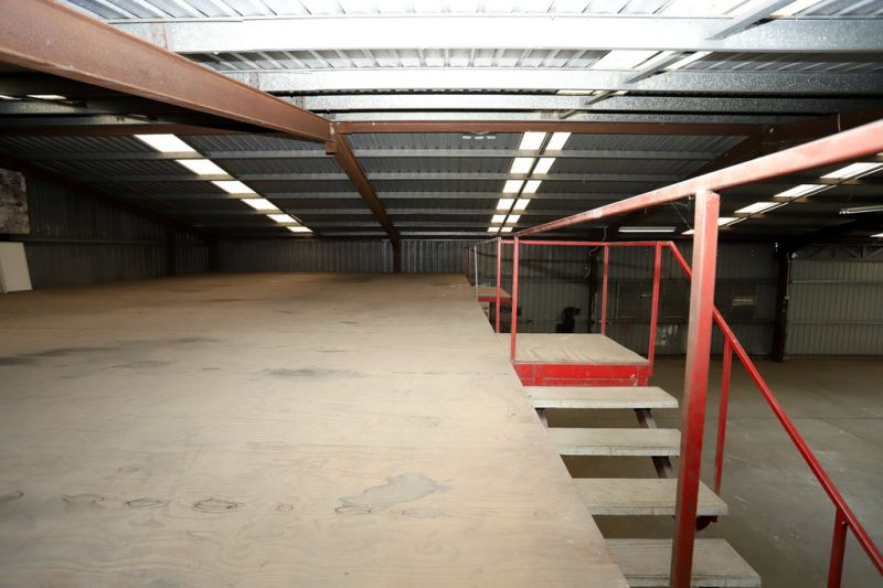 450sqm Freestanding Industrial Warehouse and Office With Large Hardstand Area