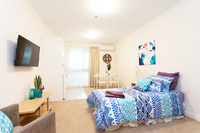 Two purchase options: $50,000^ or $128,000! Beautifully renovated care apartment at Bartonvale Village