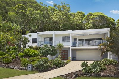 Luxurious coastal lifestyle with sweeping ocean and hinterland views