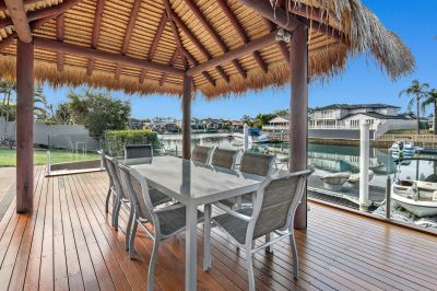 Luxury Canal Living - Runaway Islands -  East Facing...17m+ Frontage
