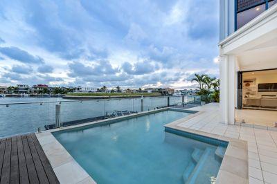 Elegant Hamptons Masterpiece with Pristine Bay Views!