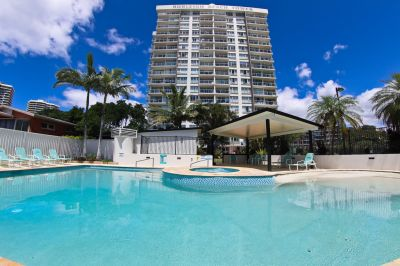 Premier Burleigh Beachfront location, would suit professionals or downsizers
