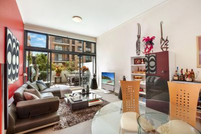 Oversized North Facing 1 Bedroom + Study Apartment in Pacific Square!