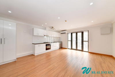 Completely Renovated Over-sized (66sqm! + Parking) Studio Apartment with Parking in the Heart of Campsie!