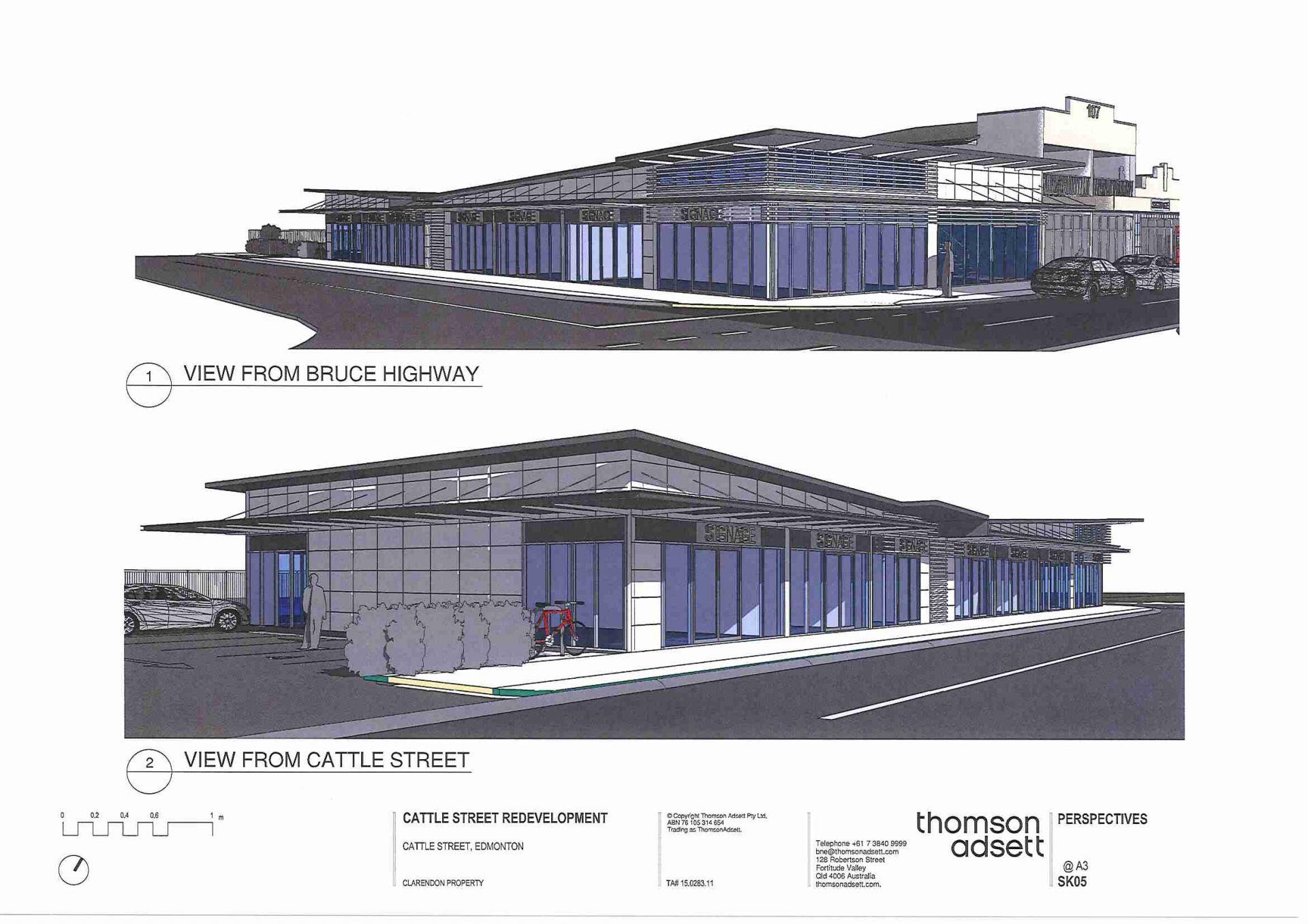 New Retail Development - Bruce Highway, Edmonton