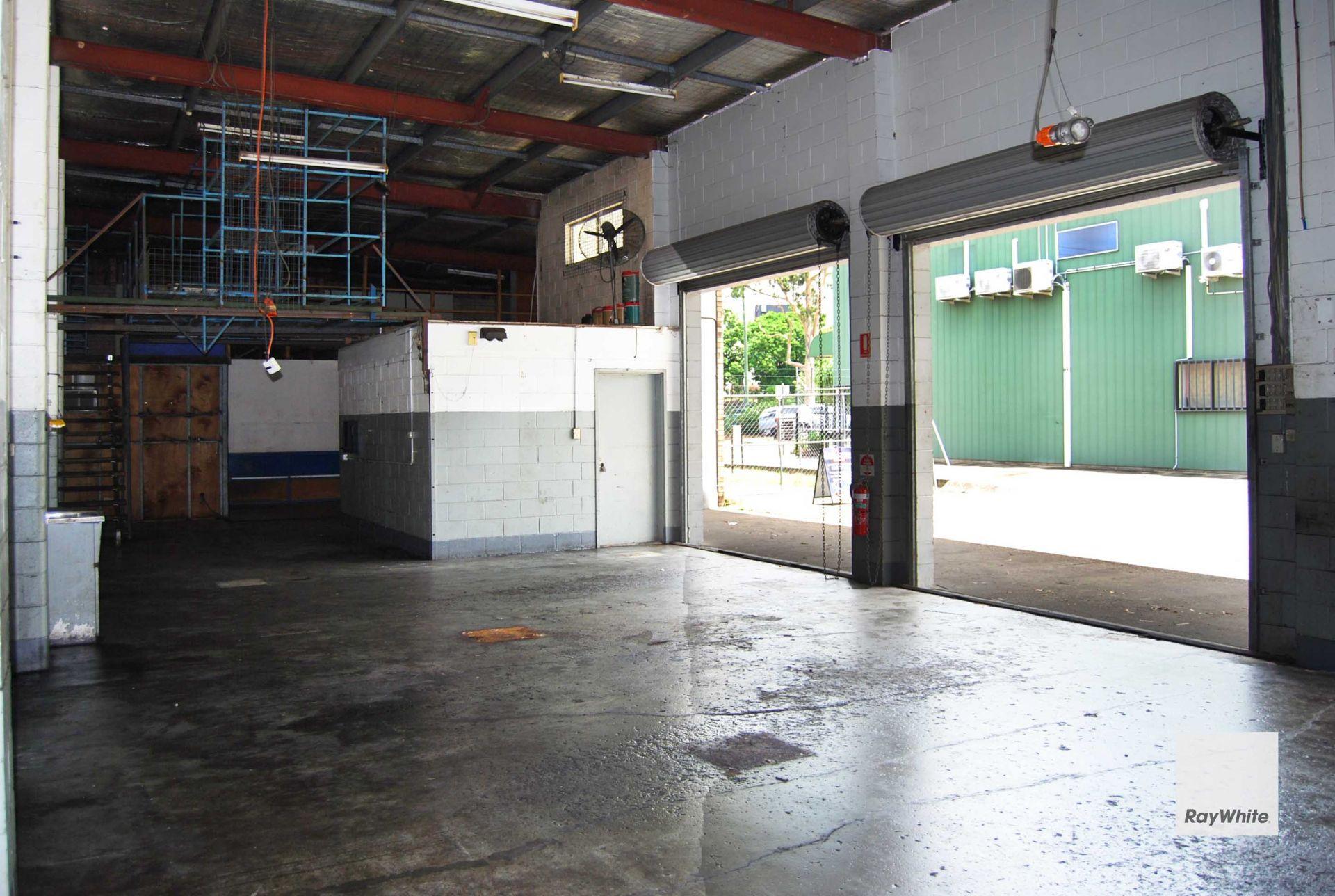 Freestanding Warehouse Complex Opposite Train Station