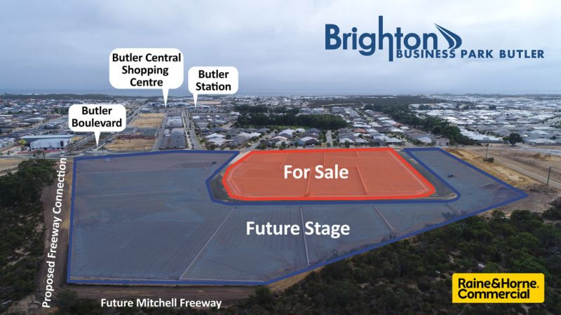 BRIGHTON BUSINESS PARK - COMMERCIAL / INDUSTRIAL LOTS NOW SELLING