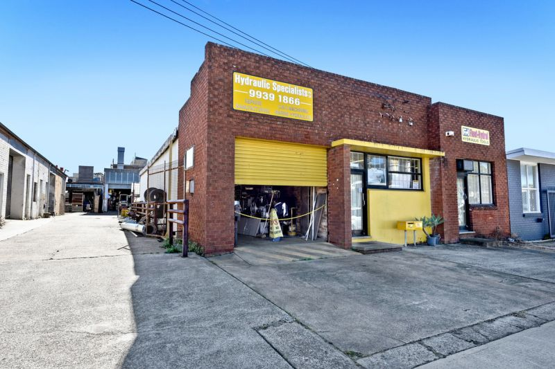 CLASSIC FREESTANDER - TWO FACTORIES ON ONE BLOCK