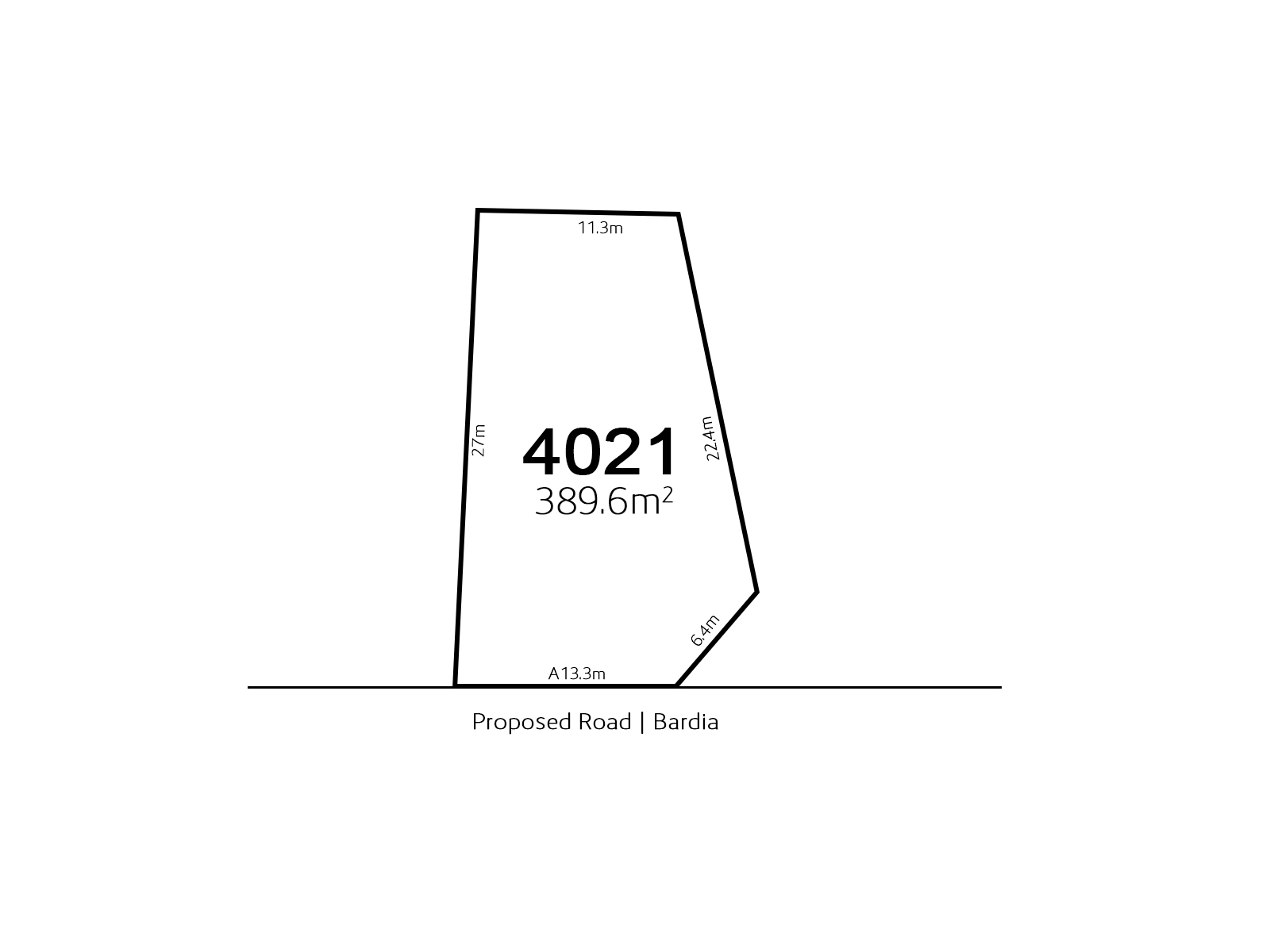 Bardia LOT 4021 Proposed Road | Bardia