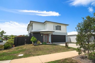 Double storey home opposite park with side access!