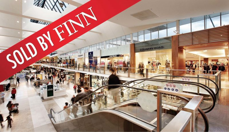 **sold** Cafe In Doncaster Westfield Shopping Centre - With Long History