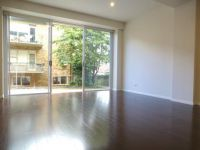 Brand new one bedroom with small terrace and large built ins