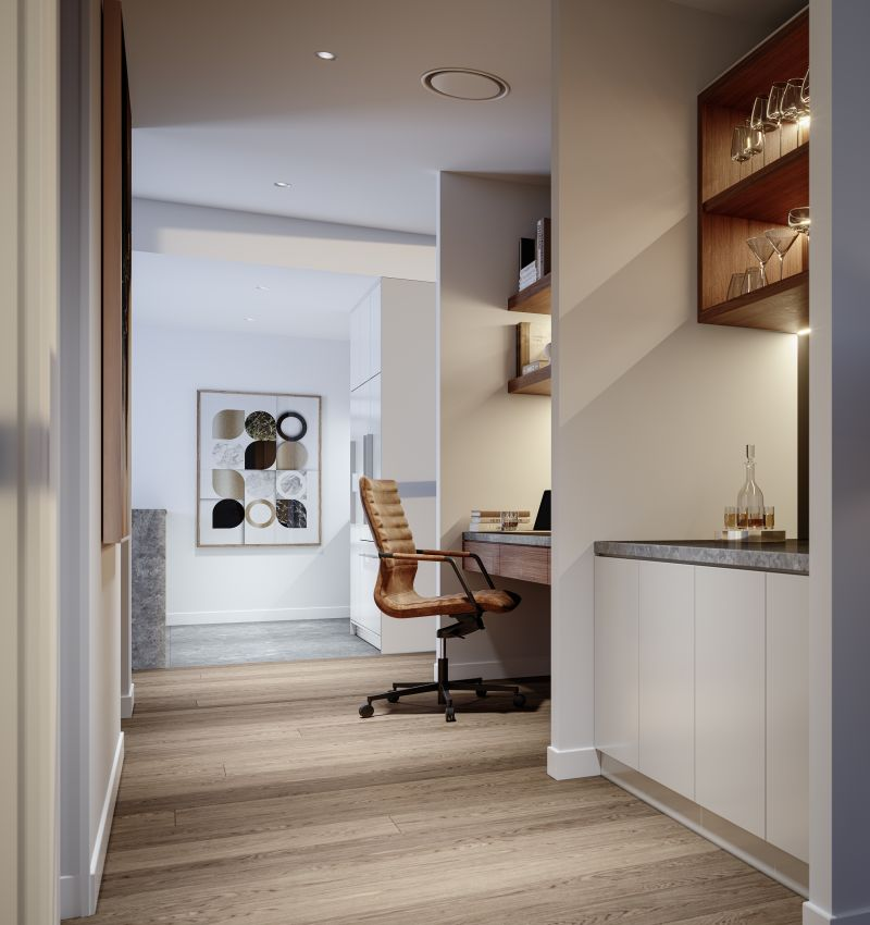 Life is better downtown. A stunning collection of 1,  2 and 3 bedroom residences.-031