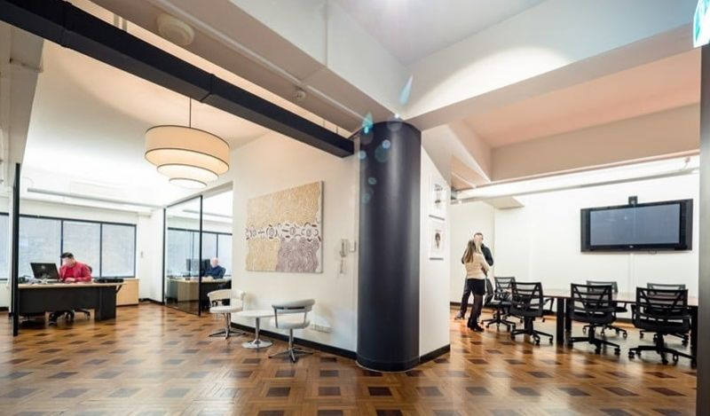 Open Creative Office Space Ready for Your Occupation