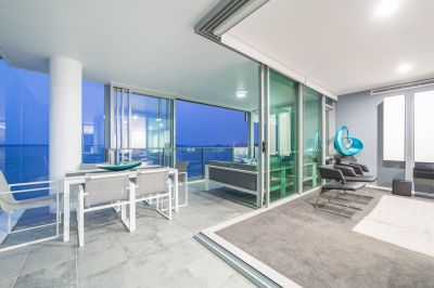Magnificent Views Over Broadwater to Surfers Paradise - Coveted Corner Position - Rarely Available!