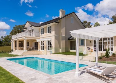Sheer Elegance Custom-Built Hamptons Designed Home