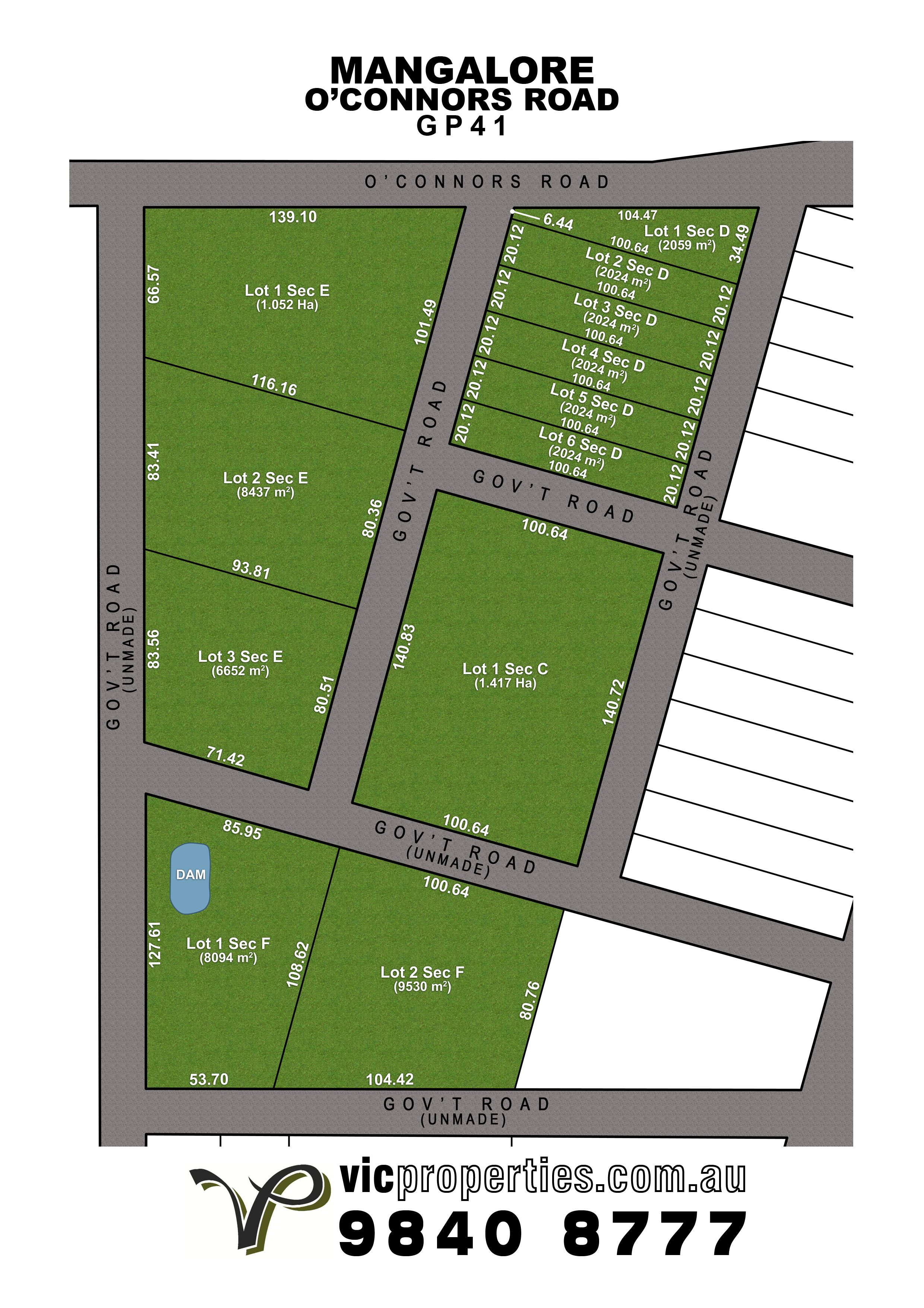 Lot 1SD/ O'connors Road, Mangalore VIC 3663