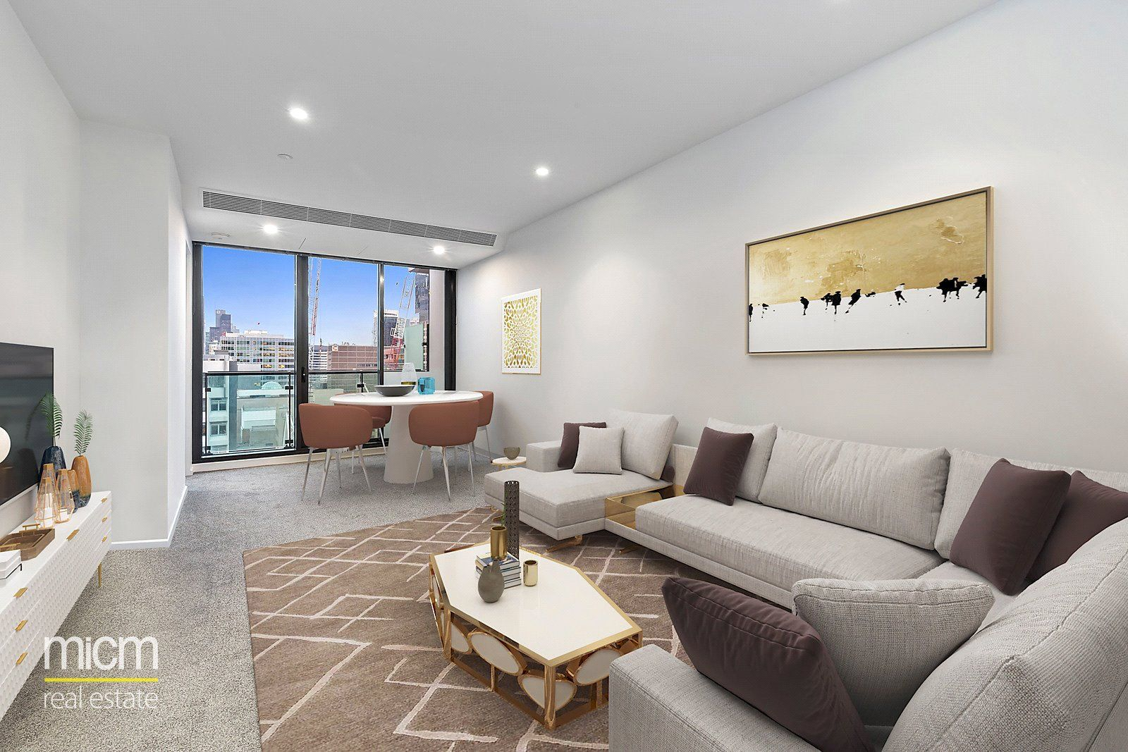 Melbourne One: Stunning Two Bedroom Apartment Awaits!