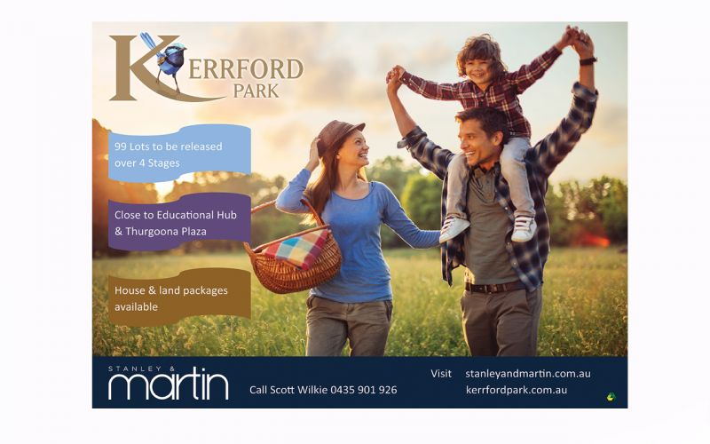 You'll feel at home at Kerrford Park Estate