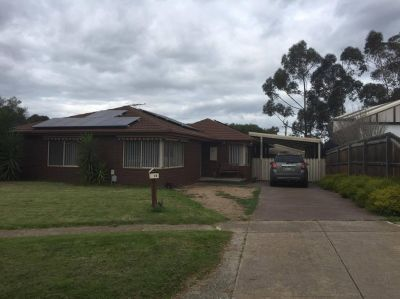 LARGE FOUR BEDROOM HOME.