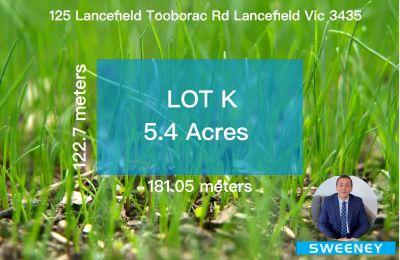 LOT 47 of 125 Lancefield-Toobarac Rd Lancefield Vic 3435