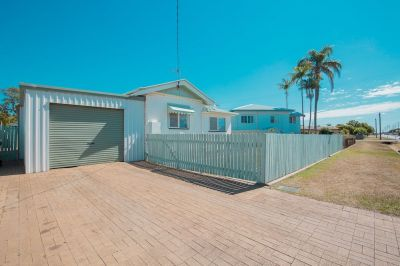 RENOVATED HOME WITH PRIVATE YARD & PLENTY OF SHED SPACE….BE QUICK!